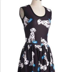 ModCloth Dalmatian dress